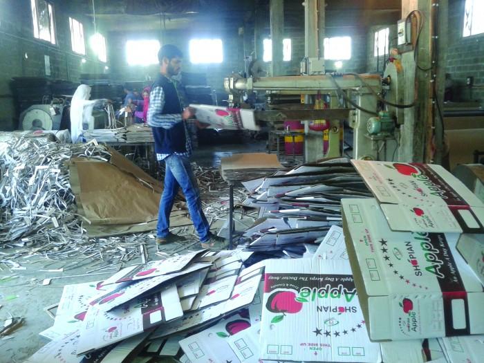 A shot inside 'Print Packs' Unit in Shopian. (Photo: Sheikh Hilal/KL)