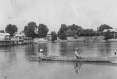 Dal lake in 1979 or 1980.
