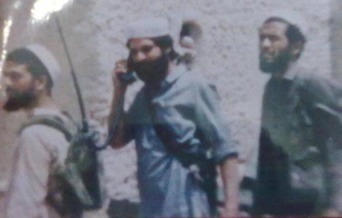 Abdullah Bangroo with his group during Afghan -Soviet war.