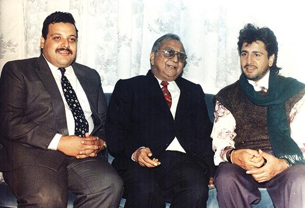 With DS Rana and Gurdas Mann