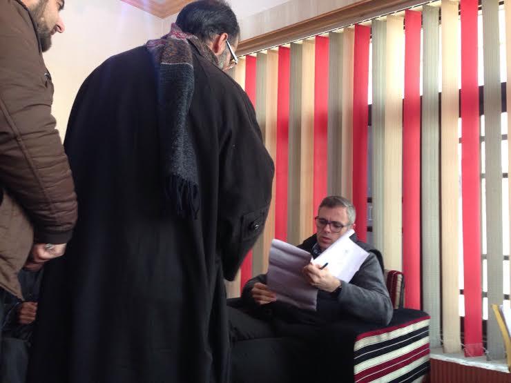 Acute Governance Crisis PDP's Gift to People: Omar in Beerwah