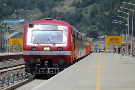 Train Crushed Two Kids To Death in Pulwama