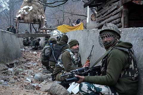 Encounter Started in Pakherpora Budgam, Mobile internet Snapped in Many Parts of Central Kashmir