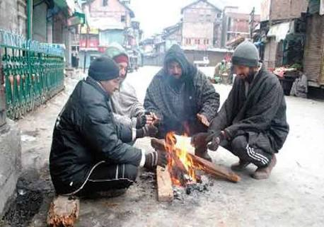 After 28 Years Coldest Night Of Such Nature Recorded In Kashmir Valley