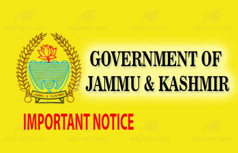 Jammu And Kashmir Government Issues Set Of Instruction For Speedy Disposal Of Pending Files In Govt Offices