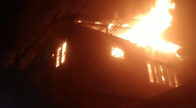 Forest Fire injures Five Employees in Bandipora