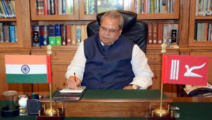 J&K Governor Says His Administration Wants President's Rule To End In State