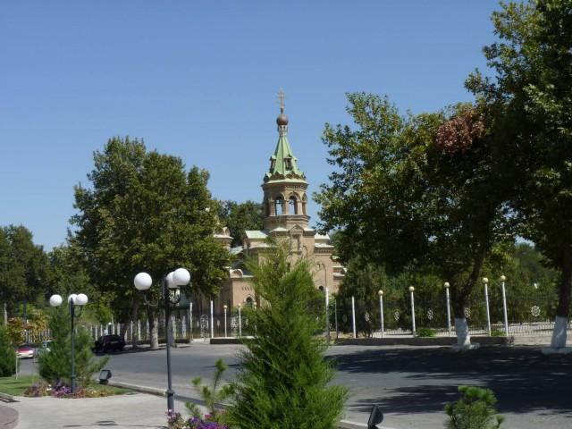 Самарканд. Собор святителя Алексия
