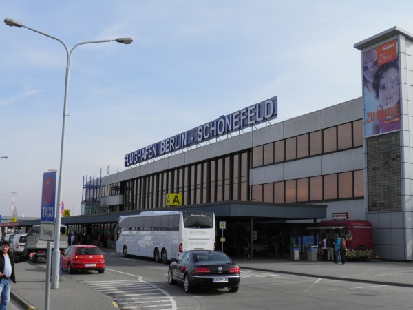 Шёнефельд - маленький аэропорт