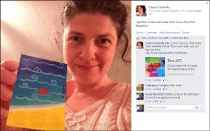Caryn Connolly atc selfie