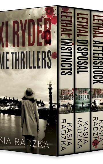 The Lexi Ryder Crime Thriller Boxset (Books 1 – 4)
