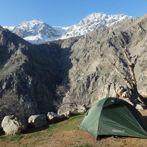 Kurdistan, camping en Pir Saliar