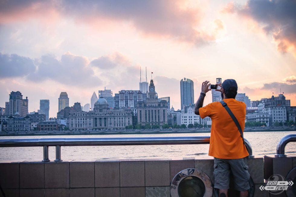 Shanghai Szanghaj Bund