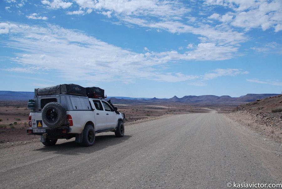 road trip Botswana