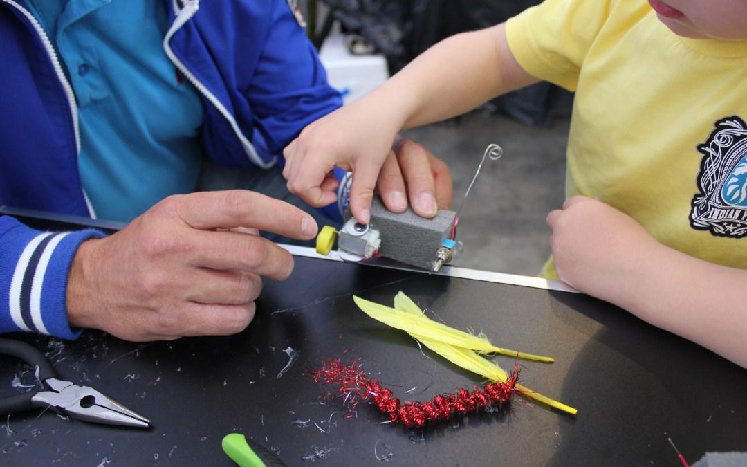 Käsityökoulu Robotin Pikku-Auroran OPEN DAY-pajat – Syksy 2015