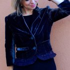 velvet blazer daily outfit blog whatiwore2day ootd