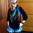 scarf casual mom ootd daily outfit blog whatiwore2day