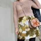 pink sweater knockoff designer bag daily outfit blog ootd whatiwore2day