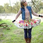 jams world dress denim vest daily outfit blog ootd whatiwore2day casual
