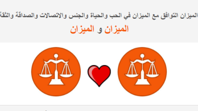 Photo of الميزان التوافق مع الميزان في الحب والحياة والعلاقة علامة الميزان