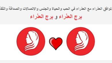 Photo of توافق برج العذراء مع علامة العذراء