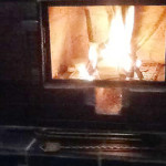Kasol Cottage Fire place