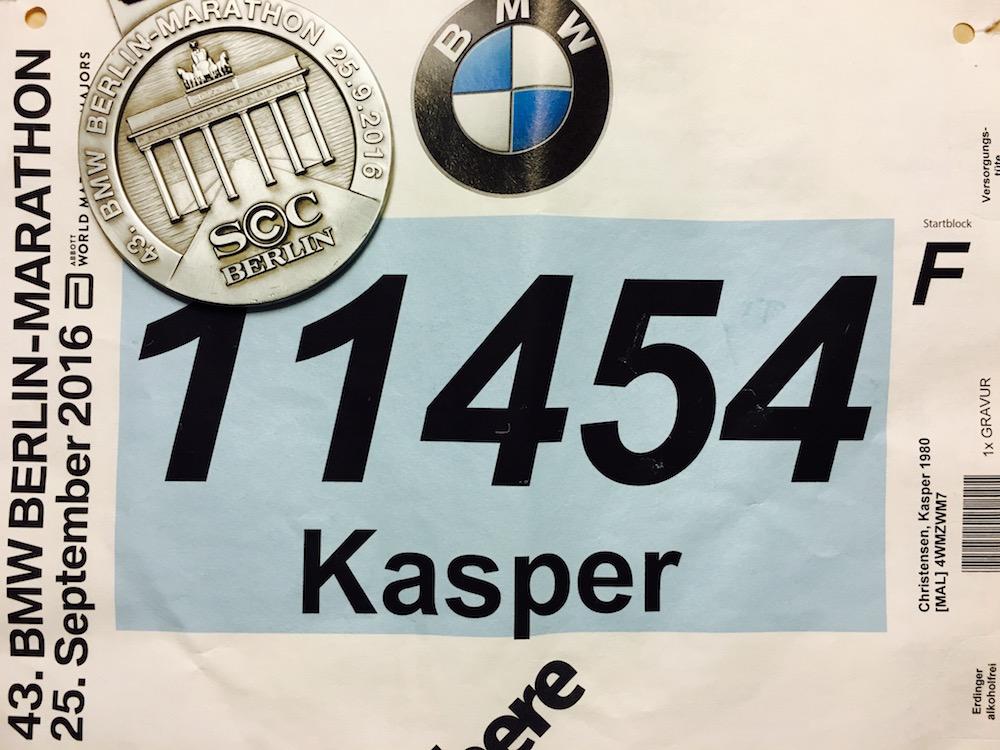 Berlin Marathon 2016 gennemført