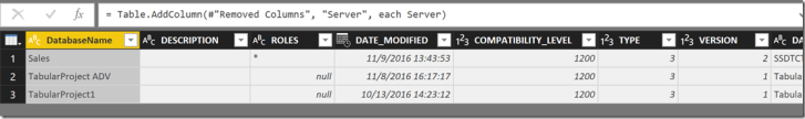 How it is build: the SSAS memory report