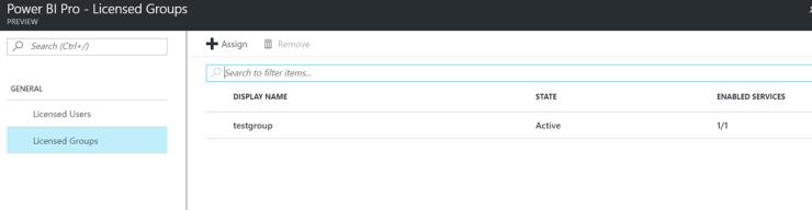 Bulk assign Power BI licenses using Azure AD