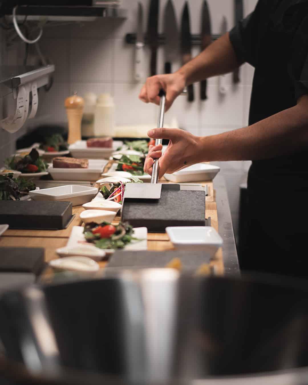 Blackstone Steakhouse het lavasten