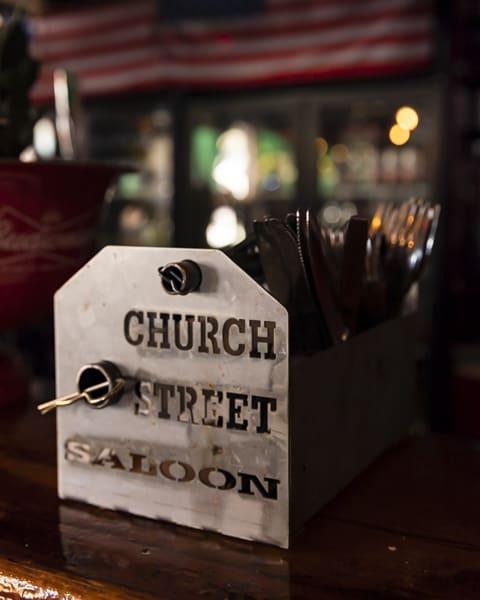 Church Street Saloon bestick