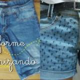 Customizando: shorts 3
