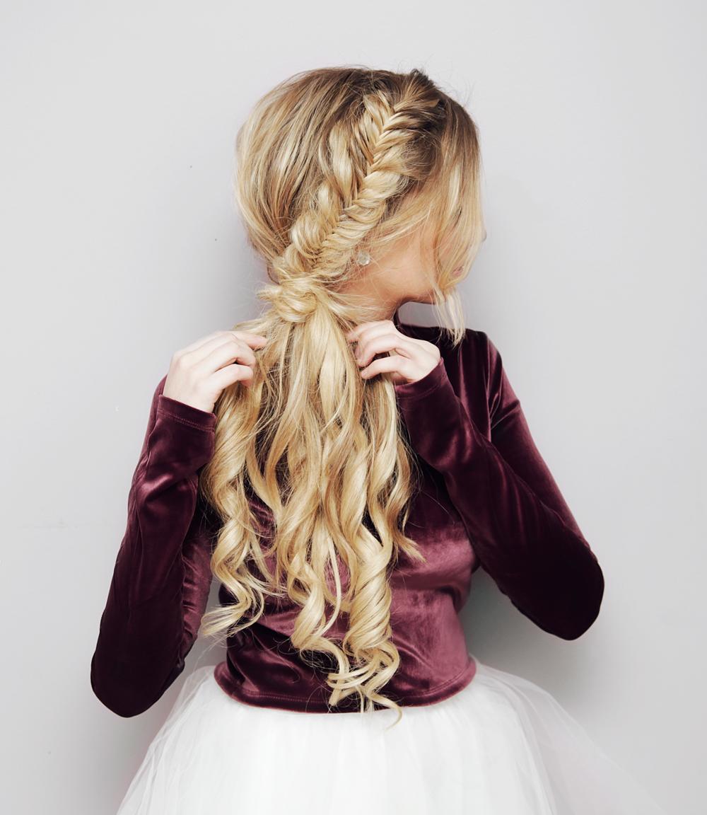Image result for side  ponytail