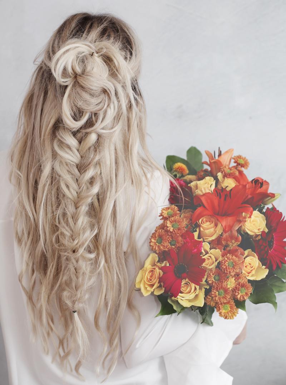 Boho top knot hair tutorial kassinka boho top knot hair tutorial baditri Choice Image