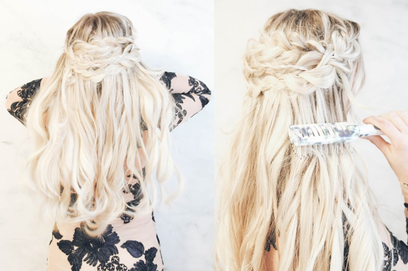 Romantic Braids With Scünci