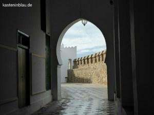 Durch den Palast des ehem. Sultans zur Stadtmauer