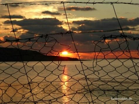 jeden Tag ein kitschig-schöner Sonnenuntergang