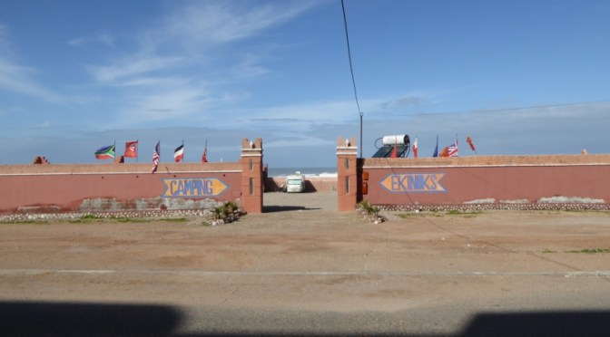 Camping Equinox (Ekinoks) –  Neuer Camping in El Ouatia (Tan-Tan Plage)