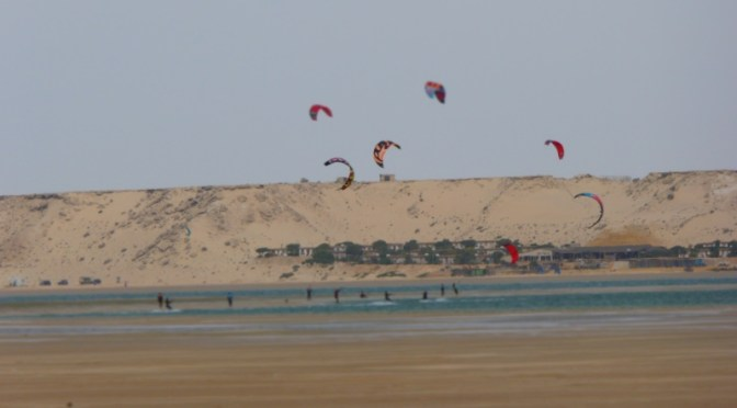 Wohnmobiltour durch die West-Sahara: von Oued Kraa nach Dakhla (Kilometer 25) (150 km)