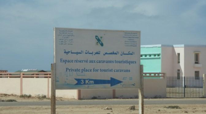 """Wohnmobiltour durch die West-Sahara: vom """"Kilometer 25"""" (Dahkla-Halbinsel) nach Dakhla"""