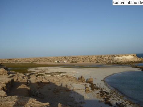 Lagune und Seitenarm (Kilometer 15)