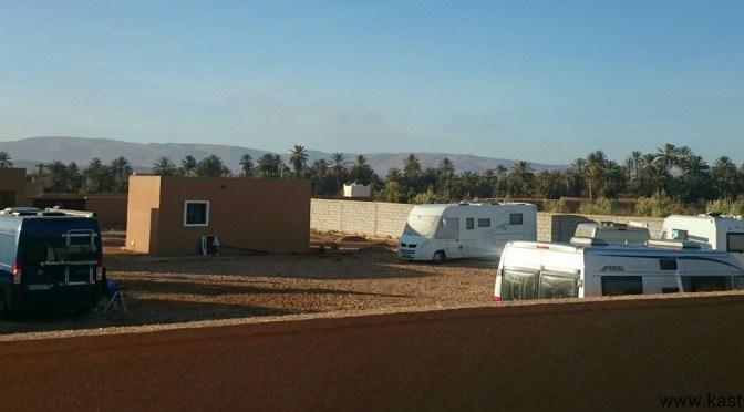 Marokko: Camping Touareg, Oase Tighmert bei Guelmim