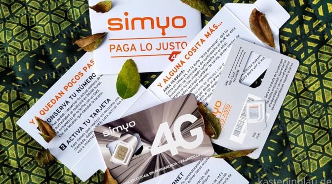mobiles Internet in Spanien mit SIMYO