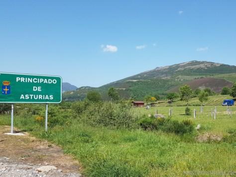 mit dem Wohnmobil in Asturien