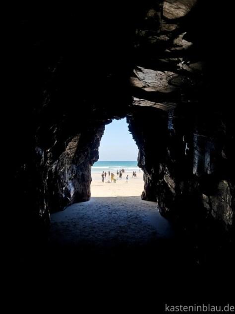 Galicien: Kathedralenstrand