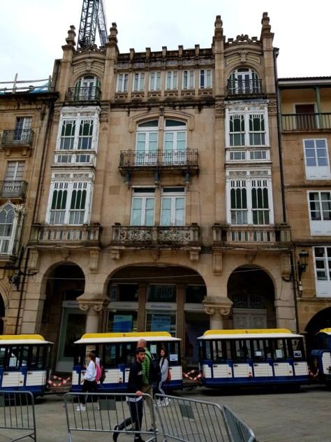 Die Altstadt von Ourense / Galicien