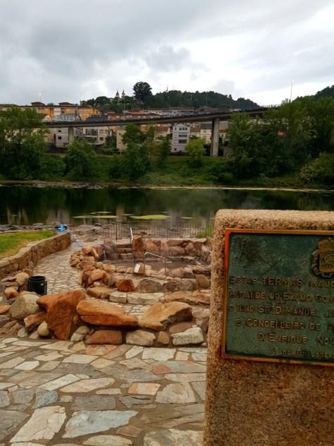 Die heißen Quellen von Ourense / Galicien