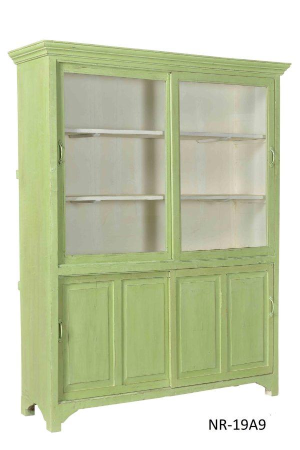 india vitrinekast – stoere vitrine kast – teakhouten kast