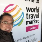 World travel marketにて