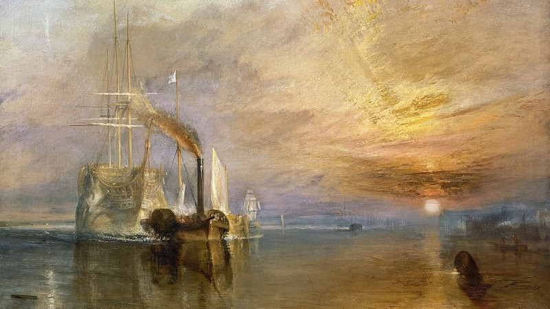 The Fighting Temeraire By Joseph Mallord William Turner, Oil Painting